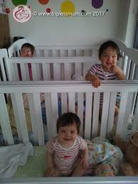 baby cribs for triplets