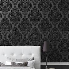 Skull Wallpaper For Bedroom Flock Wallpaper Flock Velvet Wallpaper Flock Wallpaper Designs