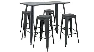 Likable Table Haute Et Tabouret Awesome Simple Apartment Living Room