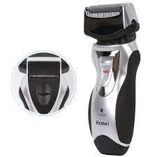 Máy cạo râu 2 lưỡi kép Kemei 8007 giá rẻ chính hãng tại TP HCM