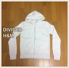 Divided H M H Anne Do M Full Zip Parker Eggshell White
