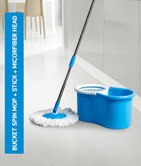Esquire <b>360 Degree Rotating</b> Magic Spin Mop Bucket Set With One ...