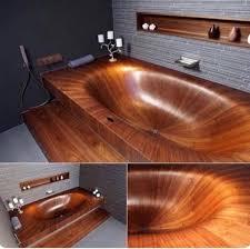 decorthis wooden bathtub