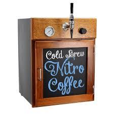 all in one countertop nitro coffee fridge