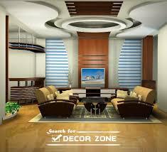 Red False Pop Ceilinng Design And Red Sofa Set In Living RoomPop Design In Room