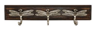 Coat Hook Rack ArtisanalCreations Dragonfly Coat Hook Rack Reviews Wayfair 21