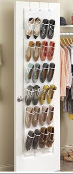 hanging door closet organizer. Crystal Clear Over The Door Shoe Organizer Hanging Closet G
