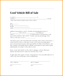 Personal Car Sale Agreement Home Sales Agreement Template Sale Contract Auto Used Car
