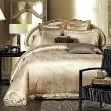 luxury duvet covers king gold white blue jacquard silk bedding set luxury satin bed set duvet cover luxury duvet covers california king
