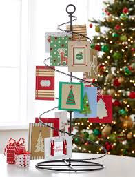 Christmas Card Display Stand Fresh Ideas for Holiday Card Displays Spiral Card displays and 2