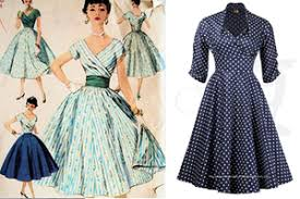 Image result for fifties skirts hems