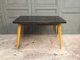 xavier pauchard french industrial dining room furniture. Xavier Pauchard French Industrial Dining Room Furniture. Furniture T55 Table With Yellow Feet By D