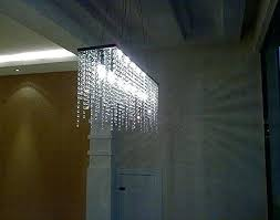 crystal chandelier ceiling light pendant mini in chrome finish rock pendants modern linear rectangular island dining