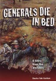 cm magazine generals die in bed a story from the trenches cover generals die in bed
