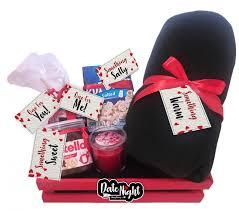 date night valentine s day gift basket