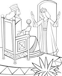 Small Picture Free Bible Coloring Pages Queen Esther