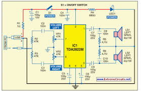 usb powered audio power amplifier eeweb community usb powered audio power amplifier circuit diagram