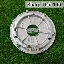 Mâm Nhiệt Nồi cơm điện Sharp 1 lít KS-11EV phụ tùng linh kiện chính hãng - Nồi  cơm điện Thương hiệu SHARP