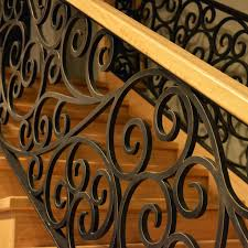 Wrought Iron Designs Wrought Iron Stair Case Railing Custom Made By Adoore Iron