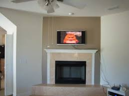 fireplace accent wall painted