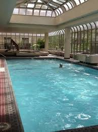 love the indoor pool Picture of The Fairmont Olympic Seattle