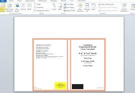 6x9 book template cover design templates createe