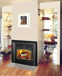 factory built wood burning fireplace custom in inserts topaz high efficiency