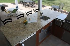 Granite For Outdoor Kitchen 15 Pictures Of Outdoor Kitchens Stone Savvy