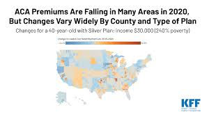 How Aca Marketplace Premiums Are Changing By County In 2020