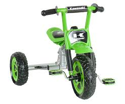 amazon com kawasaki tricycle 10 inch wheels suspension forks