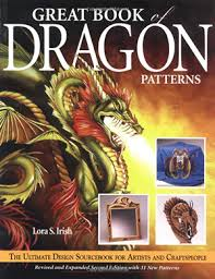 dragon art great book of dragon patterns the ultimate design sourcebook for artists and craftspeople contents