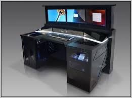 the 25 best custom gaming desk ideas on custom with regard to corner gaming computer desk decorating