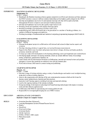 Learning Developer Resume Samples Velvet Jobs