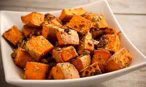 roasted sweet potato recipes. Contemporary Sweet Roasted Sweet Potatoes With Pumpkin Seeds On Potato Recipes