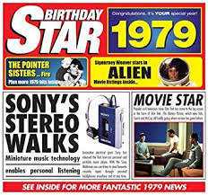 1979 Chart Hits Compilation 1979 Birthday Gift 1979 Chart Hits Cd And