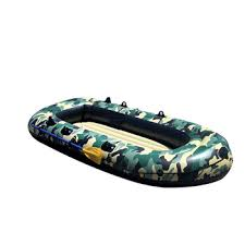 2-4 Person Thickening PVC Inflatable Boat Raft River Lake Dinghy ...