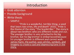 literary analysis essay ppt video online  6 introduction