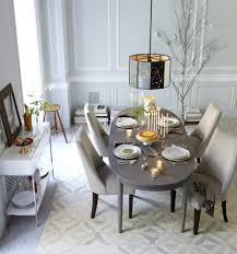 beautiful white pendant lights for rectangle wood dining room home decorating ideas with light above oval