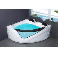 corner jetted bathtub whirlpool air bubble massage heater