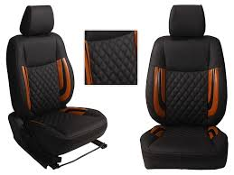 picture of 3d custom pu leather car seat covers for hyundai xcent ht