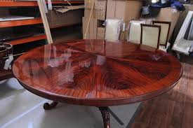 large round dining table 84 high end large round mahogany dining table antique