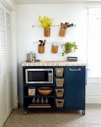 we also love that this gets that pesky microwave off the kitchen counter and frees up precious prep space