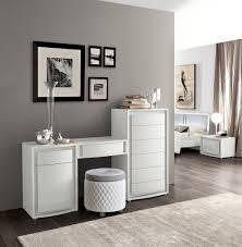 Muxus Schlafzimmer Grau Modernes Möbel Set Weiß Freshouse