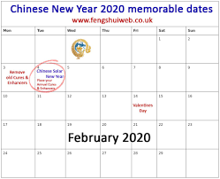 Chinese Calendar January 2020 Chinese New Year Feng Shui 2020 Everything You Need To