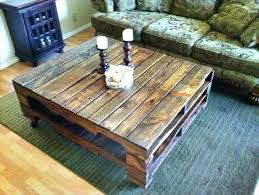 how to build a rustic coffee table modern pallet coffee table diy rustic coffee table ideas