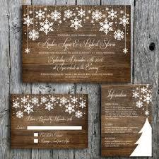 Rustic Winter Wedding Invitations Shop Winter Wedding Invitations On Wanelo