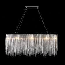 kitchen impressive chandelier hanging chain 5 ak4023 rectangular 4 point free crystal glass 24 60 l