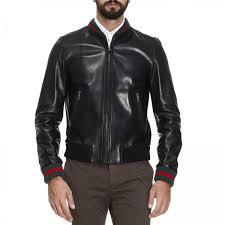 jacket men gucci black