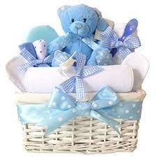 angel baby boys gift hers blue newborns baskets newborn baby shower boy gifts basket her