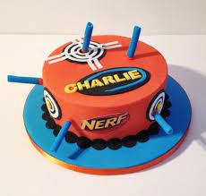 Nerf gun cake Cakes and cookies Pinterest